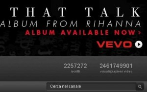 rihanna canale youtube