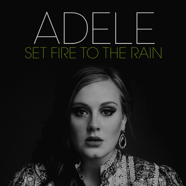 Adele Set fire to the rain : video musicale youtube